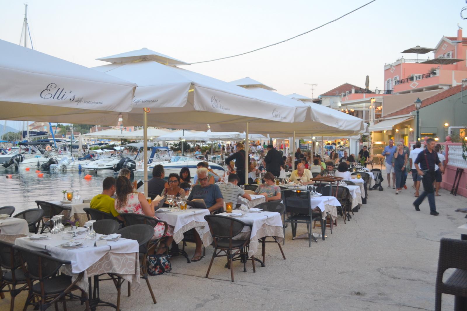 Elli's Restaurant - Fiskardo